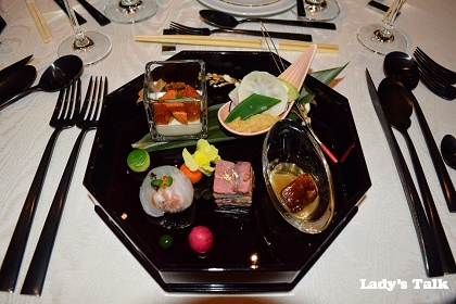 京都の披露宴のお料理