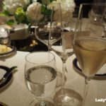 リッツカールトン披露宴のシャンパン