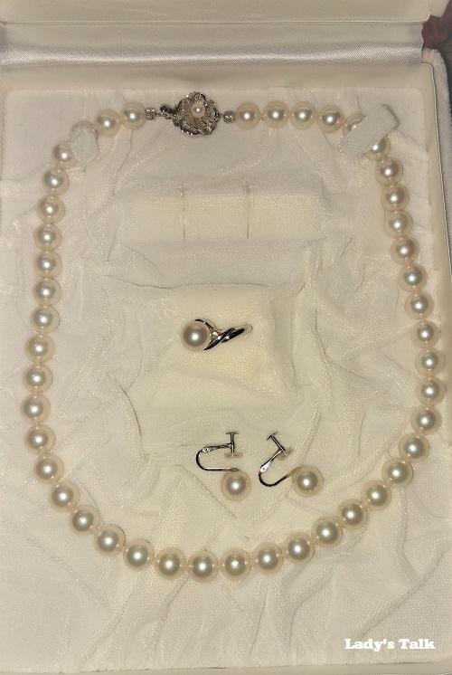 レディーズトーク、真珠、婚約指輪