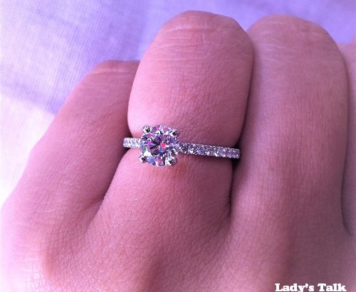 レディーズトーク、Debeersの婚約指輪