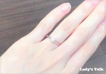 【私の婚約指輪】ティファニーの一粒ダイヤのエンゲージ(口コミ・体験談)