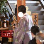 お宮参りは子安台のある神社で @福岡県福岡市「櫛田神社」