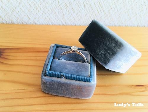 レディーズトーク、ビジュピコの婚約指輪
