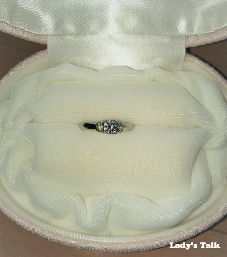 レディーズトーク、マルモ結納店の婚約指輪