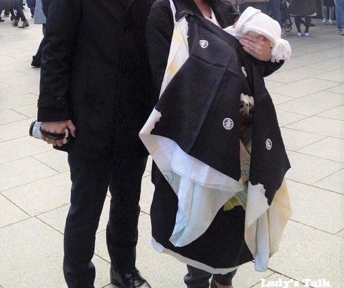 お宮参りはパパと同じところで @東京都日野市の「高幡不動尊金剛寺」