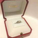 【私の婚約指輪】憧れのレッドボックス、カルティエのエンゲージ(口コミ・体験談)