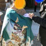 お宮参りは地元で有名な神社で @埼玉県日高市の「高麗神社」