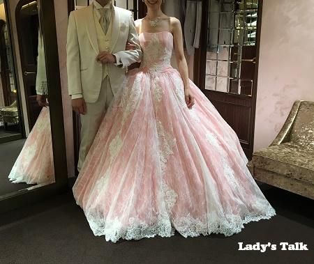 ウェディングドレス選び(Lady's Talk花嫁ブログ)