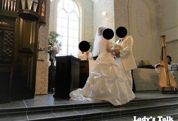 [花嫁レポ] 広い敷地とパイプオルガン✽ウエディングヒルズアジュールでの結婚式