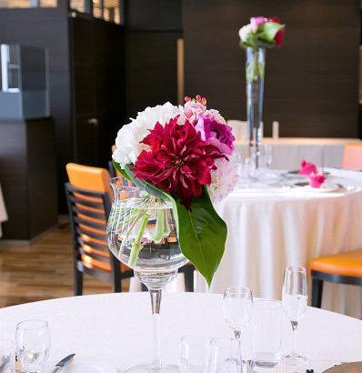 [花嫁レポ] レストランルークウィズスカイラウンジで47階からの東京の夜景を堪能する結婚式