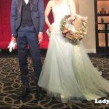 [花嫁レポ] 円形のチャペルがある都城グリーンホテルでの結婚式